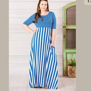 The road ahead maxi dress